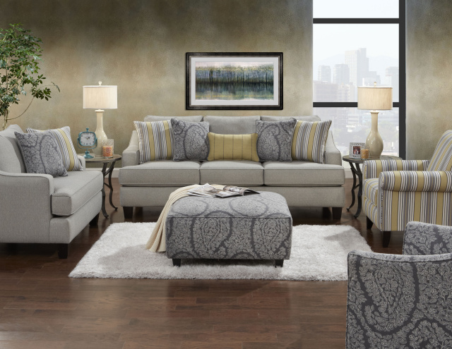 Furniture Living Room Sets Simmons Flannel
