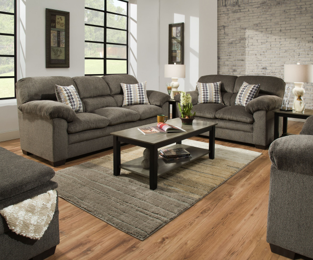 3683 Sofa And Love In Harlow Ash And Chestnut