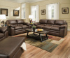 8073 Sofa and Love in Shiloh Sable