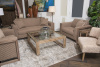 AICO/Kathy Ireland Hudson Ferry Driftwood Sofa and Chair 1/2, extra Chairs and Tables Available