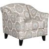 452 Acent Chair in Brianne Twlight - Matches 1145 Mist