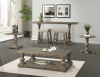 Charleston Cocktail Table and Square Pedestal End - Sold Seperately