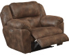 "189 Huge Man Rcliner - 54"" wide - Power Seat and Power Headrest - Dusk or Steel"