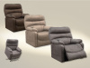 4864 LIFT Recliner in Chocolate, Portabella, and Graphite